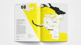 Annual Report Design Map Overview